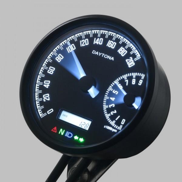 """Tachometer & DZM """"Velona-W"""" -200 km/h"""