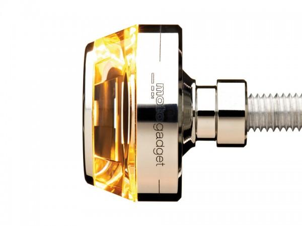 motogadget Lenkerendenblinker m-Blaze DISC, rechts, poliert
