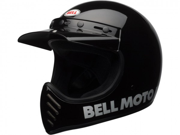 BELL Moto-3 Classic Helm Black