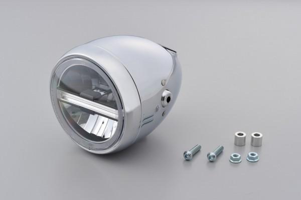 DAYTONA LED-Scheinwerfer 5 3/4 Zoll NEOVINTAGE, chrom