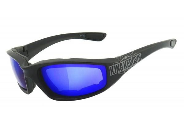 King Kerosin: KK140 gepolstert - laser blue