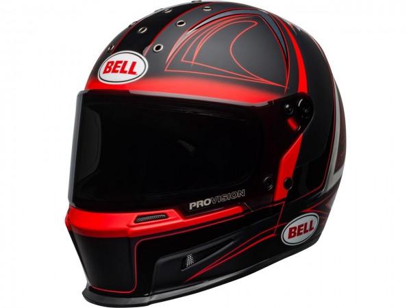 BELL Eliminator Hart Luck Helm Matte/Gloss Black/Red/White