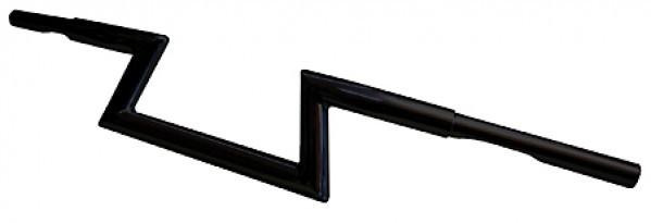 FEHLING Z-Lenker LOW, 1 1/4 Zoll, H 12 cm, 5 Loch, schwarz
