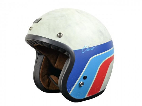 ORIGINE Primo Helm Classic Vintage Weiss