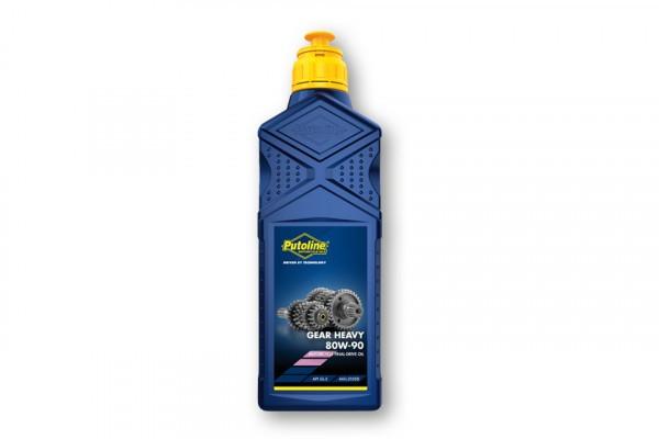PUTOLINE Gear Heavy, 80W/90, Getriebeöl für Kardanantrieb, mineralisch, 1 Liter