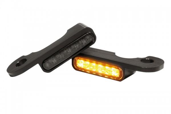 HeinzBikes LED Armaturen Blinker TOURING Modelle hydr.Kupplung, schwarz, E-geprüft