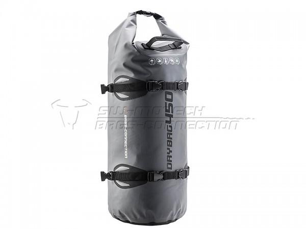 SW-MOTECH Hecktasche Drybag 450 Tarpaulin. Grau/Schwarz. Wasserdicht. 45 l.