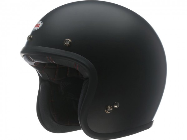 BELL Custom 500 DLX Helm Solid Matte Black