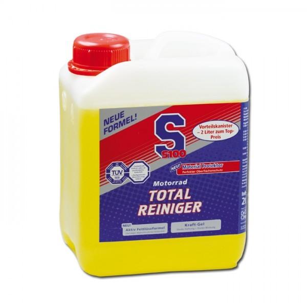 S100 Motorrad-Total-Reiniger Plus, 2 Liter