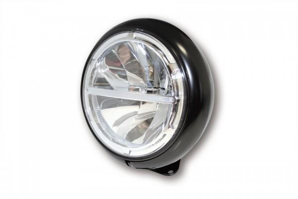 HIGHSIDER 7 Zoll VOYAGE HD-STYLE LED-Scheinwerfer, untere Befestigung