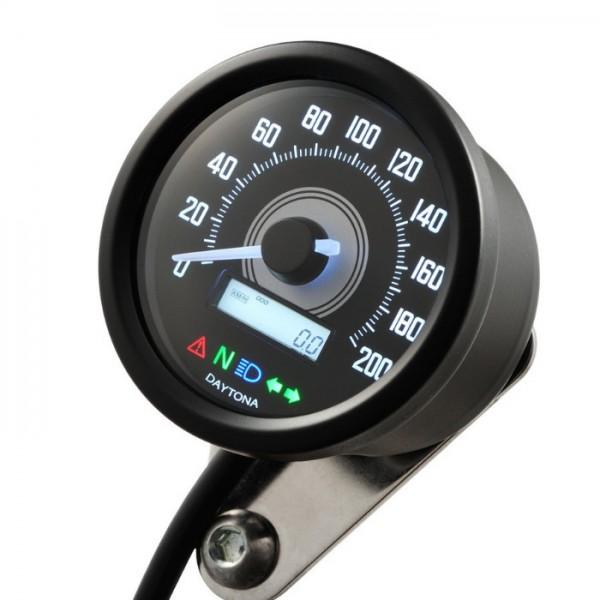 """Digitaltacho """"New Velona 60"""" -200 km/h"""