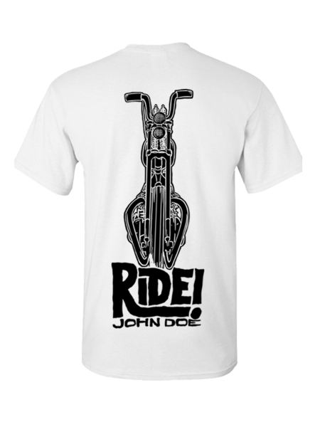 T-Shirt Ride White