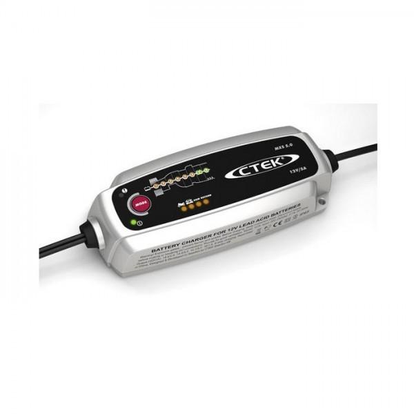 Batterieladegerät CTEK MXS5.0, 12V-5,0A Ladestrom: 5,0A / Batteriekapazität 1,2-110AH