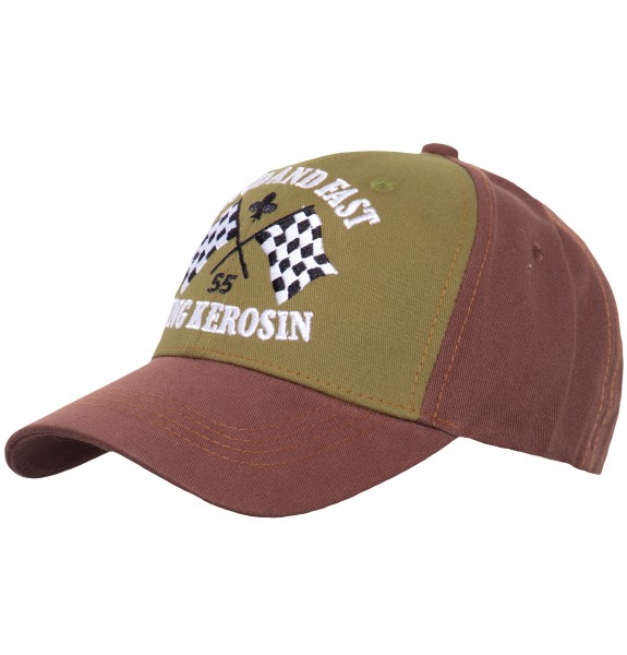 KING KEROSIN Trucker Cap mit Frontstickerei Loud and Fast