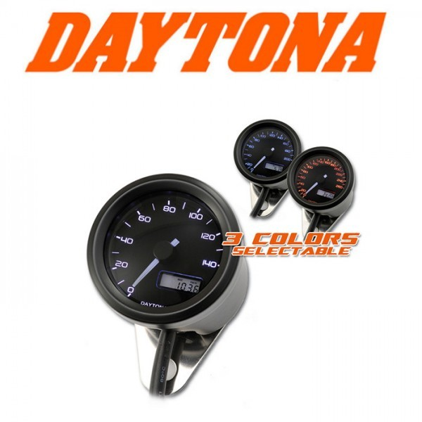 "Daytona Digitaltacho ""Velona"", Ø 48mm, -140 km/h"