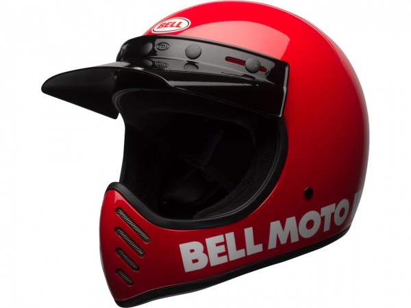 BELL Moto-3 Classic Helm Red