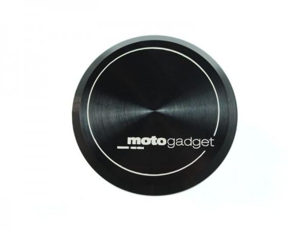 motogadget Endkappen für Alugriffe mit Logo
