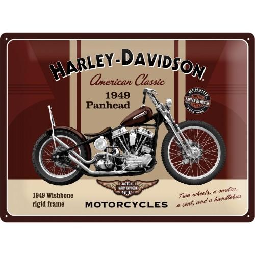 Harley-Davidson Panhead 30 x 40 cm (Länge / Breite)