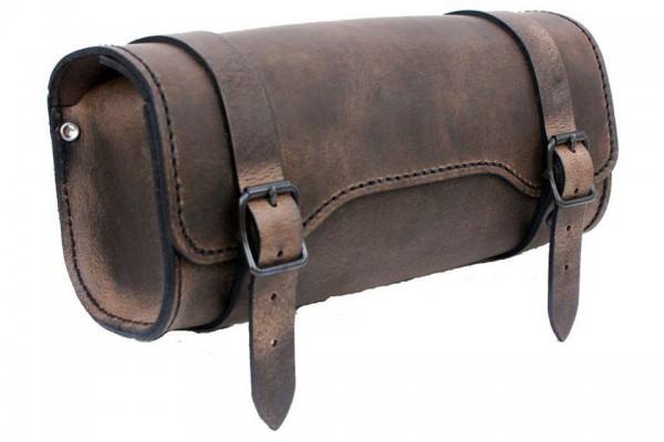 LEDRIE Werkzeugtasche rechteckig braun Leder, 3 l
