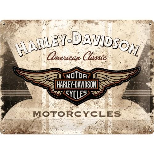 Harley-Davidson American Classic Logo 30 x 40 cm (Länge / Breite)