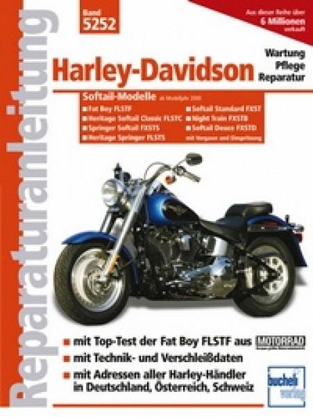 Bd. 5252 Reparatur-Anleitung HARLEY DAVIDSON Softail-Modelle mit Vergaser und Einspritzung, 00- ( FL