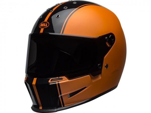 BELL Eliminator Helm Rally Matte/Gloss Black/Orange