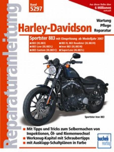 Bd. 5297 Reparatur-Anleitung H.D., Sportster 883 , mit Einspritzung, Bj. 07- (XL883, XL883L, XL883C,