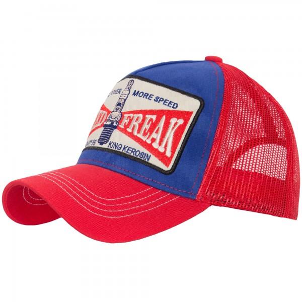 KING KEROSIN TRUCKER CAP »MORE POWER« MIT FRONT PATCH MORE POWER