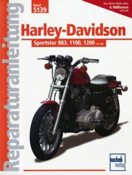 Bd. 5139 Reparatur-Anleitung HARLEY DAVIDSON Sportster-Modelle 883/1100/1200 Bj.86-