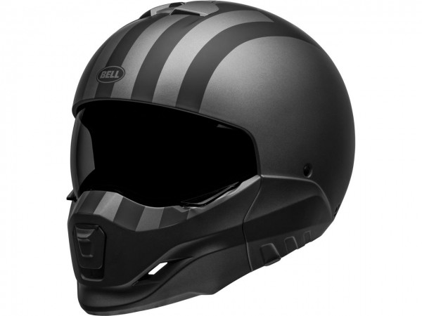 BELL Broozer Helm Free Ride Matte Gray/Black