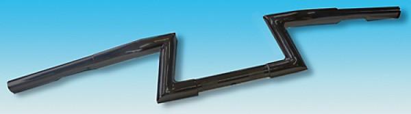 FEHLING Z-Lenker LOW, 1 1/4 Zoll, H 12 cm, 3 Loch, schwarz