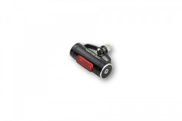 HIGHSIDER LED-Rücklicht CONERO T1, rotes Glas