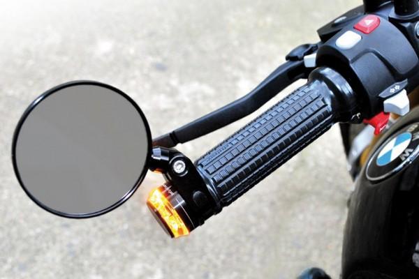 Gummigriffe m-Grip Soft, schwarz, für 22 mm Lenker, Ende offen, Paar