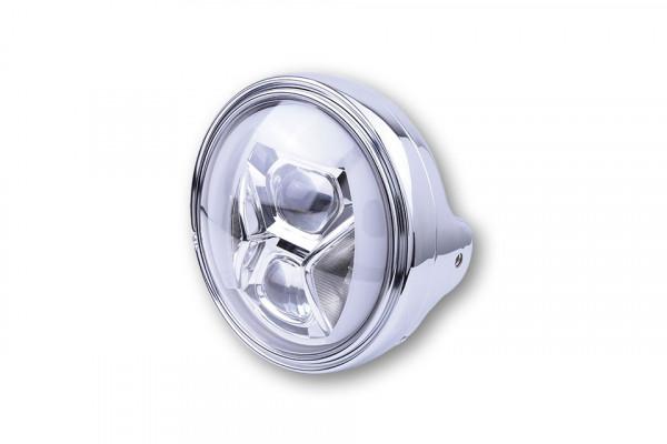HIGHSIDER 7 Zoll LED Scheinwerfer LTD TYP 8 mit TFL, Kurvenlicht